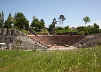 8. Theater Augusta Raurica: 8,4 km