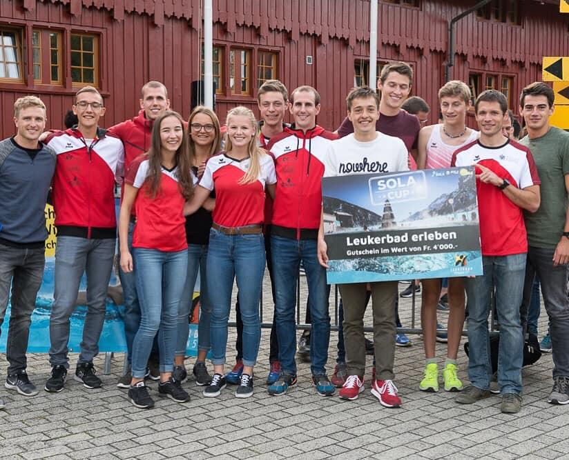 Winning team 1st SOLA Cup